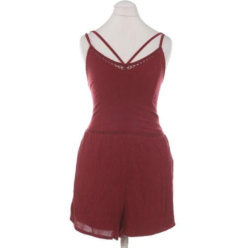 Hollister Damen Jumpsuit/Overall rot kein Etikett INT S