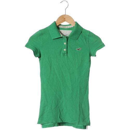 Hollister Damen Poloshirt grün kein Etikett INT XS