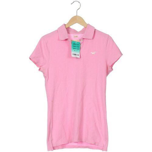 Hollister Damen Poloshirt pink kein Etikett INT S
