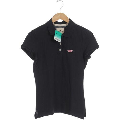 Hollister Damen Poloshirt blau kein Etikett INT L