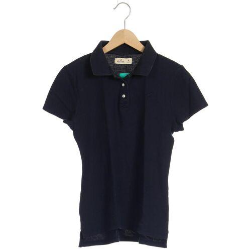 Hollister Damen Poloshirt blau kein Etikett INT M
