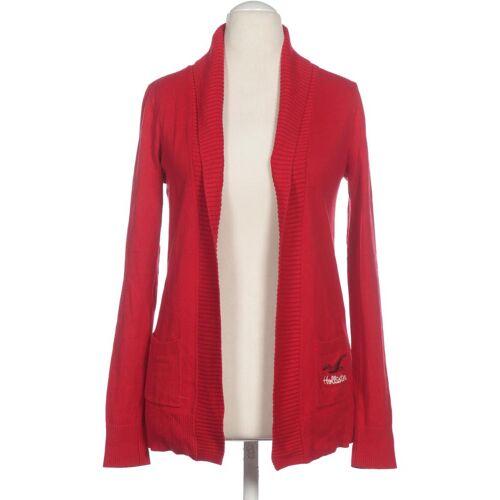 Hollister Damen Strickjacke rot kein Etikett INT M