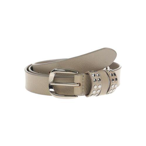 hüftgold berlin Damen Gürtel grau Leder 105