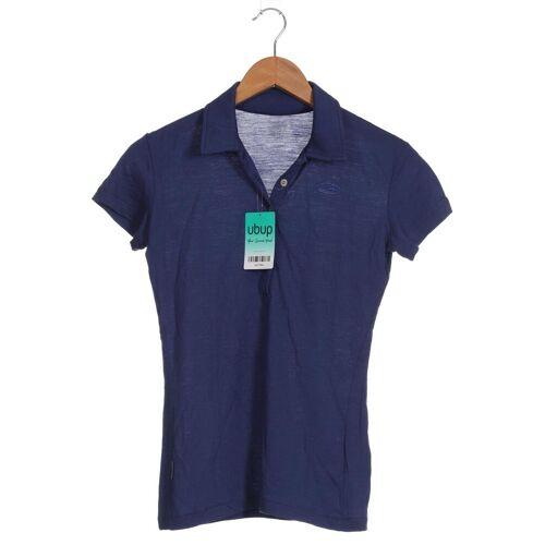 Icebreaker Damen Poloshirt INT XS blau