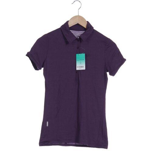Icebreaker Damen Poloshirt INT XS lila