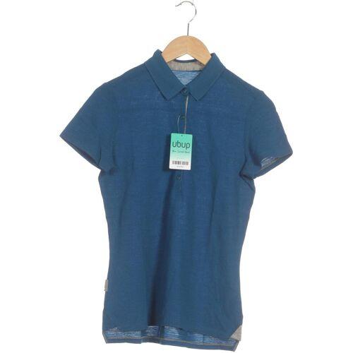 Icebreaker Damen Poloshirt INT M blau
