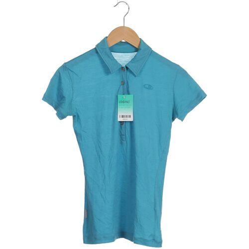 Icebreaker Damen Poloshirt INT S blau