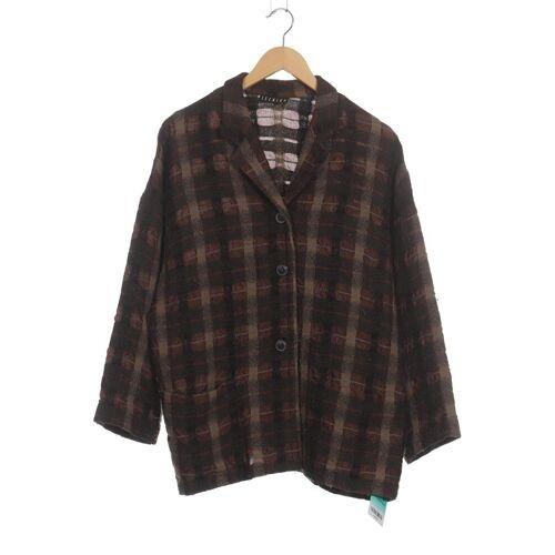 Ischiko Damen Jacke braun Wolle Viskose DE 38