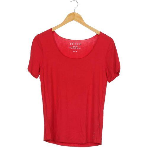 JETTE Jette Joop Damen T-Shirt rot kein Etikett DE 38