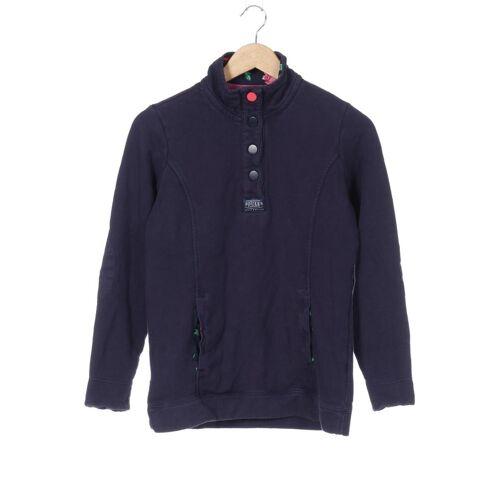 Joules Damen Sweatshirt blau Baumwolle INT S