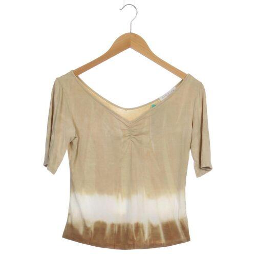 KIMMICH TRIKOT Damen T-Shirt beige Elasthan Viskose INT L