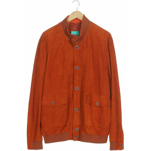 Kapraun Damen Jacke orange Leder DE 56