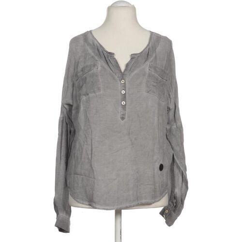 Khujo Damen Bluse grau Viskose INT L