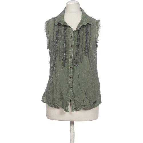 Khujo Damen Bluse grün Viskose INT S