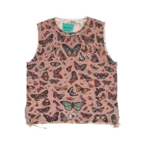 Khujo Damen Weste pink Baumwolle INT S