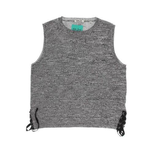 Khujo Damen Weste grau Baumwolle INT S
