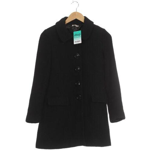 Killah Damen Mantel schwarz Synthetik Wolle Viskose INT S