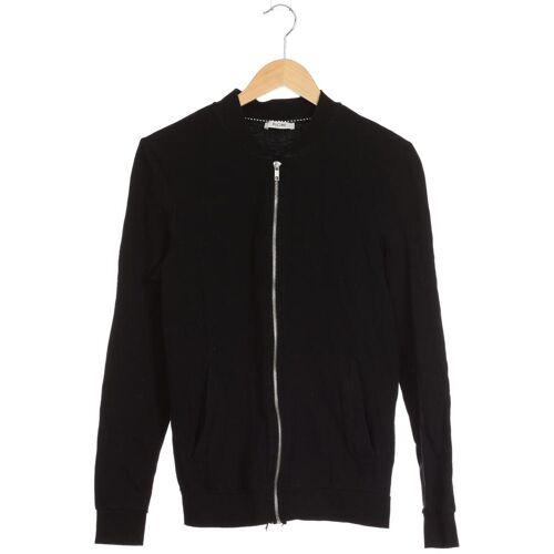 Kiomi Damen Jacke schwarz Baumwolle INT S