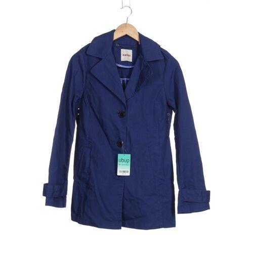 Kiomi Damen Mantel blau Baumwolle DE 38