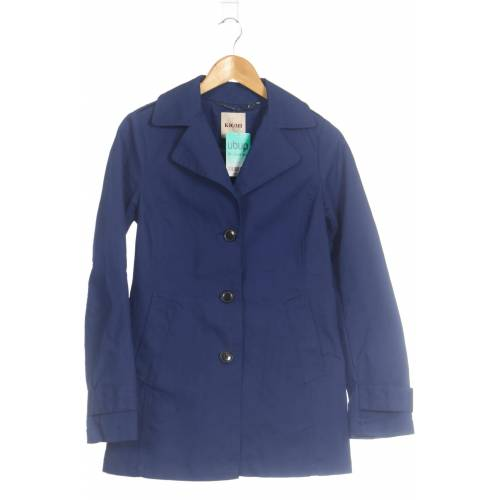 Kiomi Damen Mantel blau Baumwolle DE 36
