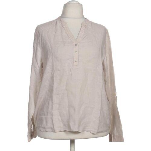L´Argentina Damen Bluse beige Leinen DE 44