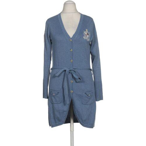 L´Argentina Damen Strickjacke blau Baumwolle INT M