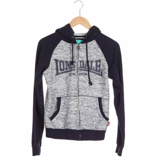 LONSDALE LONDON Damen Strickjacke blau kein Etikett INT M