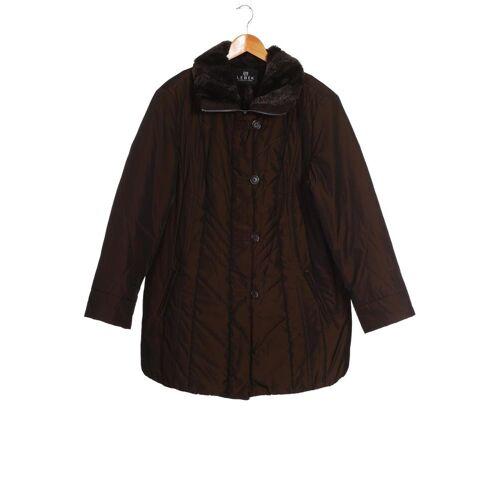 Lebek Damen Mantel braun kein Etikett DE 46