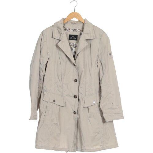 Lebek Damen Mantel grau Synthetik DE 46