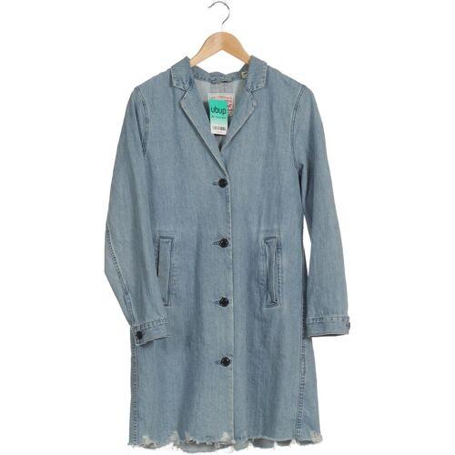 Levis Damen Mantel blau Baumwolle INT M