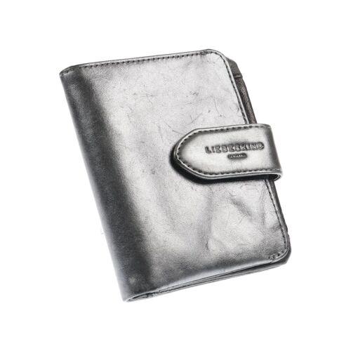 Liebeskind Berlin Damen Portemonnaie grau Leder