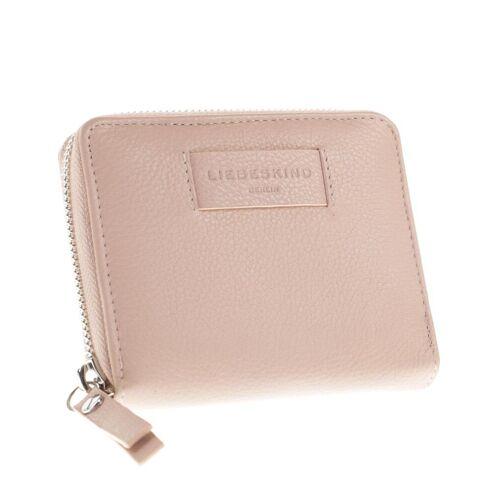 Liebeskind Berlin Damen Portemonnaie pink Leder