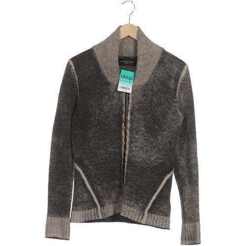 Liebeskind Berlin Damen Strickjacke grau Wolle DE 34