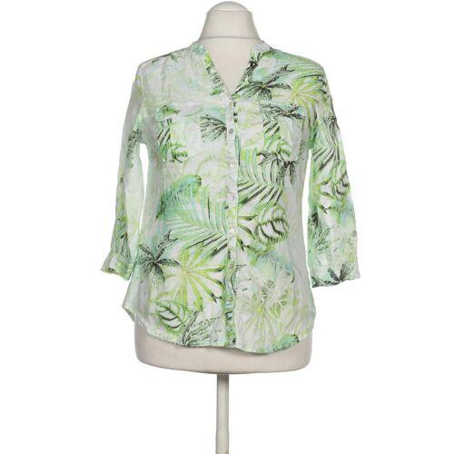 MALVIN Damen Bluse grün Leinen DE 38