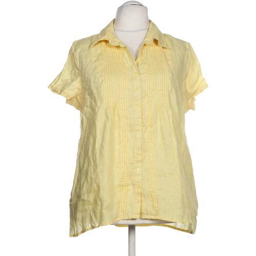MALVIN Damen Bluse gelb Leinen DE 46