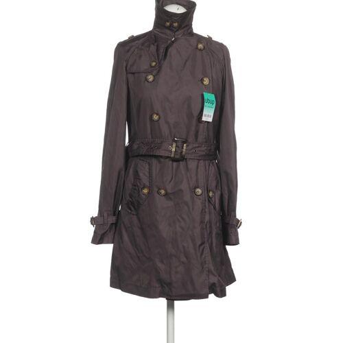 MALVIN Damen Mantel braun Synthetik DE 36