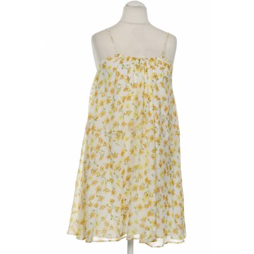 MANGO Damen Kleid INT S Maße Gesamtlänge: 90cm gelb