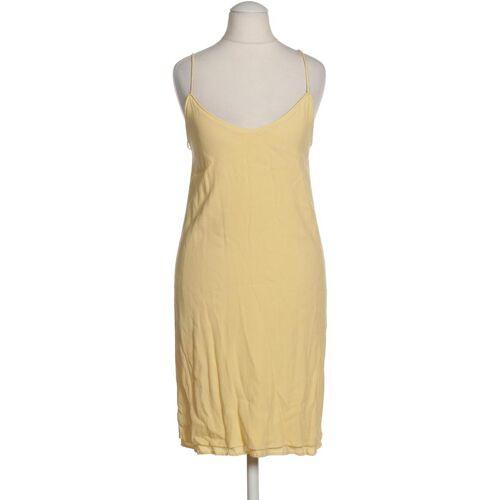 MANGO Damen Kleid INT XS Maße Gesamtlänge: 87cm gelb