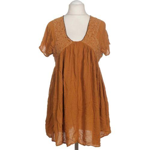 MANGO Damen Kleid INT S Maße Gesamtlänge: 82cm gelb