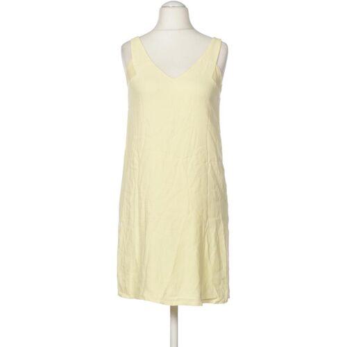 MANGO Damen Kleid INT S Maße Gesamtlänge: 87cm gelb