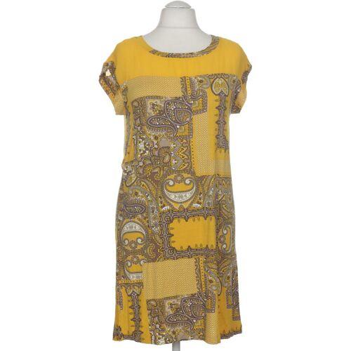 MANGO Damen Kleid INT S Maße Gesamtlänge: 92cm gelb