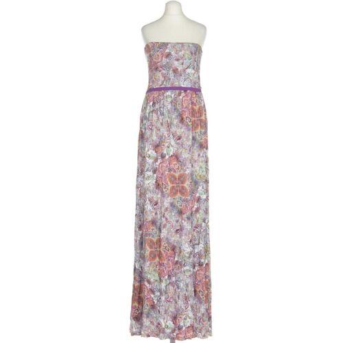 MANGO Damen Kleid INT M rot grün lila gelb braun