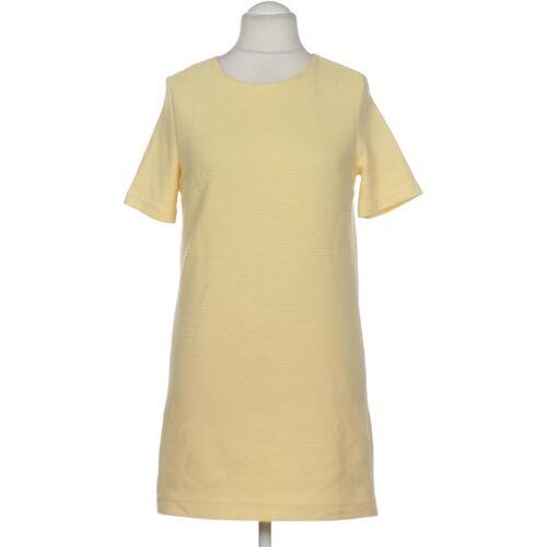 MANGO Damen Kleid INT L Maße Gesamtlänge: 83cm gelb