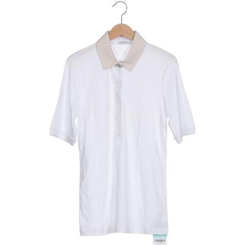 MARGITTES Damen Poloshirt weiß Baumwolle DE 38