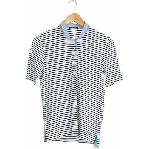 MARGITTES Damen Poloshirt weiß Elasthan Viskose DE 38