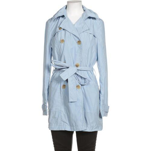 MILANO   ITALY MILANO ITALY Damen Mantel blau Synthetik DE 36