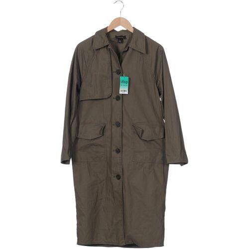 MONKI Damen Mantel grün Baumwolle INT XXS