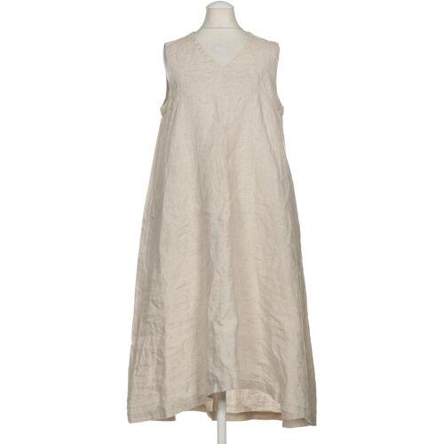 MUJI Damen Kleid beige Leinen INT XS
