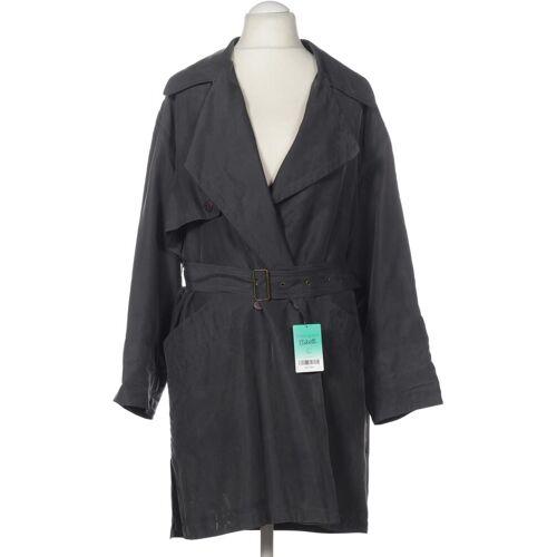 Madeleine Damen Mantel grau Viskose DE 38
