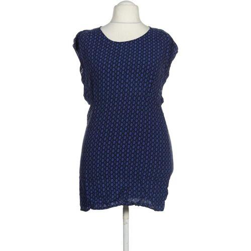 Manguun Damen Kleid blau Viskose DE 40